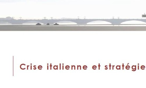 Flash Marchés - Crise italienne